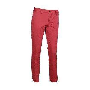 Polo RL Men's Stretch Slim Fit Chino Red, 34Wx32L